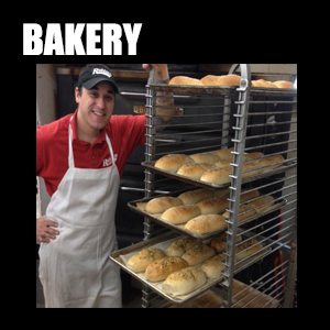 Bakery – Artisan baked, old fashioned pizza, bread and rolls, fresh out of the oven