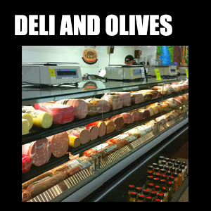 Deli & Olives – Brand new deli and olive cases to display over 100 different cold cuts and nearly 50 olive salads. Your options are nearly endless.