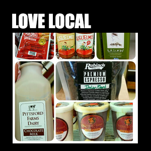 Love Local – We love to support Rochester businesses and the community, find all the local businesses we carry here.
