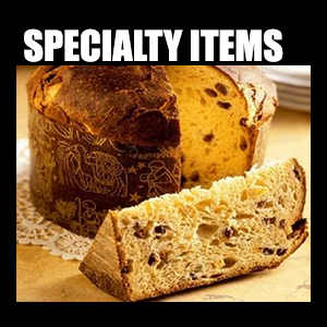 Specialty Products – The finest Italian products at your fingertips. You won't find them elsewhere, only at a true Italian Supermarket.