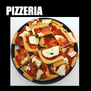 Pizzeria – Freshly baked, Made to order artisan pizzas