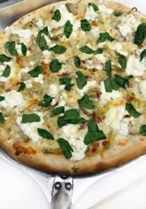 spinach artichoke ricotta pizza june _1 _ 2018